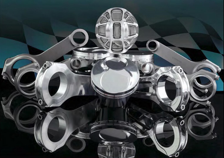 CP Carrillo pistons and rods